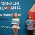 Dodeljene zahvalnice donatorima i partnerima Nacionalnog dana davanja