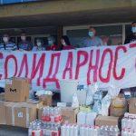 Isporučena humanitarna pomoć domovima zdravlja u Tutinu i Sjenici
