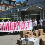 Počelo dostavljanje pomoći za Novi Pazar, Tutin i Sjenicu